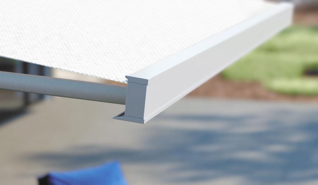 dettaglio tenda da sole
