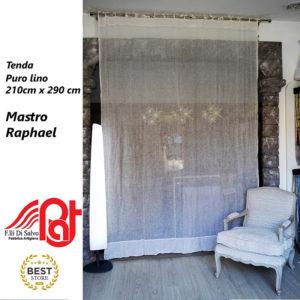 Tenda da interni di Puro Lino garzato pannello da 210 X 290 cm – Mastro Raphael